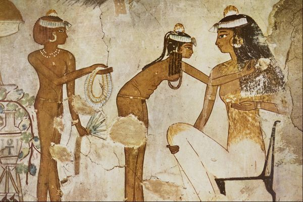 Баня в древнем Египте