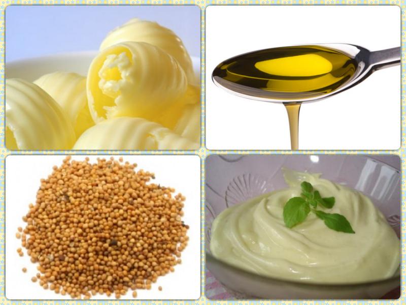 Ингредиенты маски для сухих волос