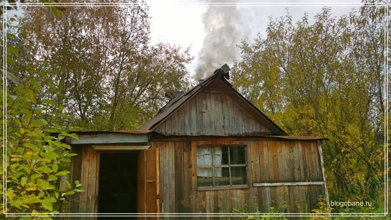 Как правильно топить баню на дровах