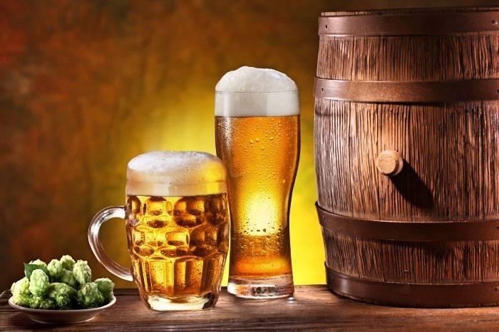 Пиво в бане для здоровья