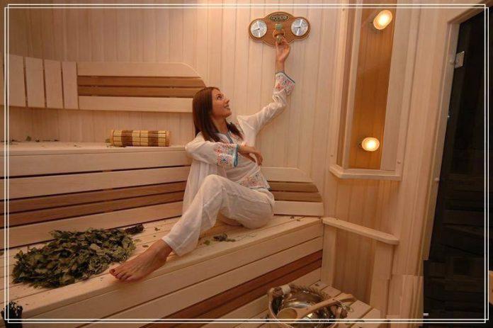 Комфортная температура в бане