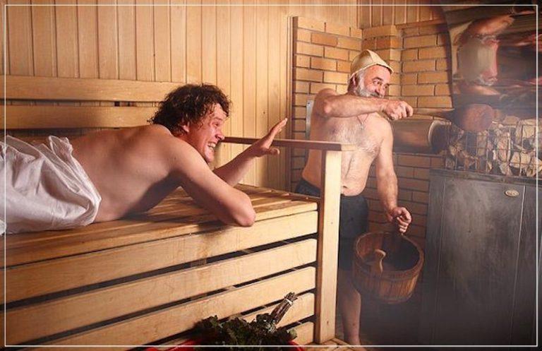 Порно фото сауна вечеринка