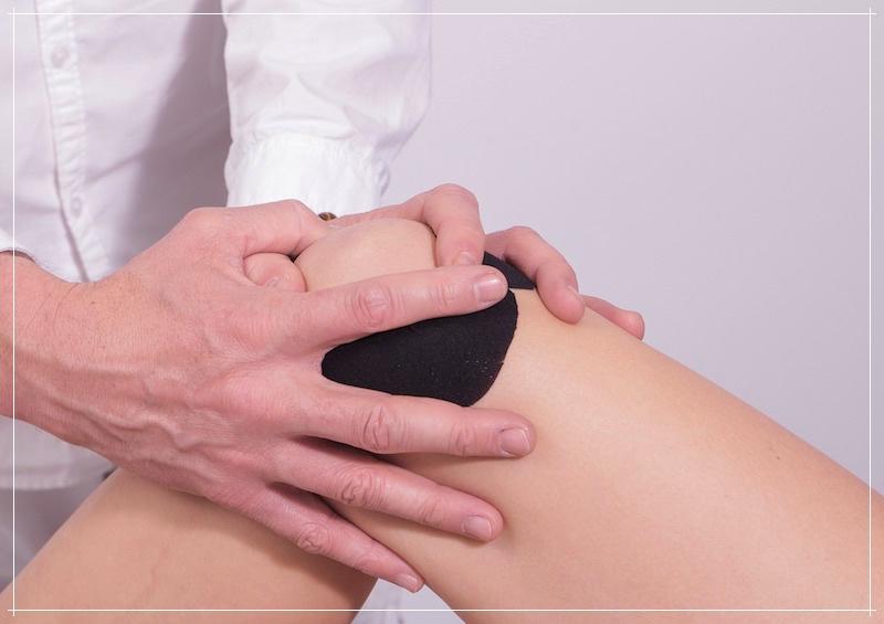 массаж сустава