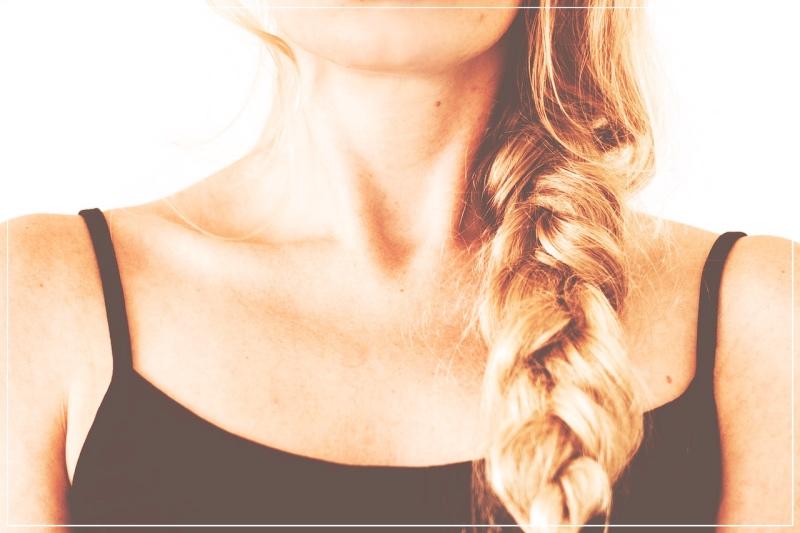 девочка с косой