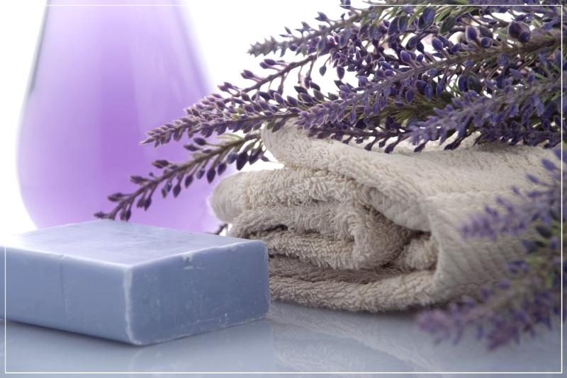 ароматические травы в ванной