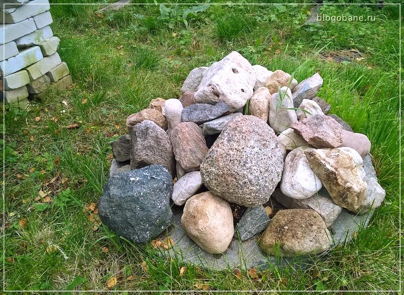 камни на улице