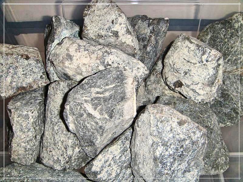 Дунит камни
