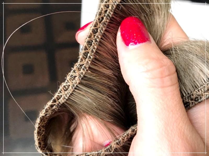 тестовое наращивание волос