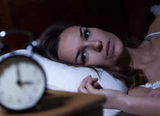 женщина не спит