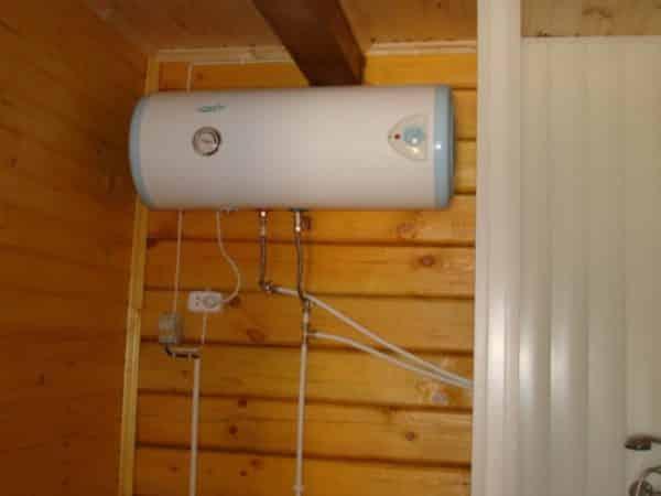 Как выбрать водонагревательный бак для бани