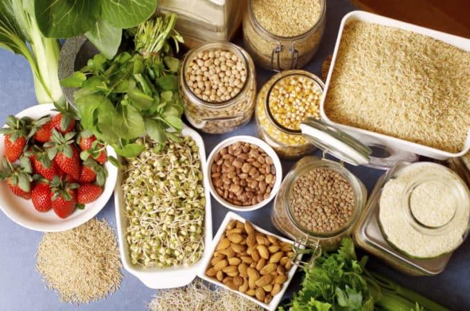 продукты с высоким содержанием пищевых волокон