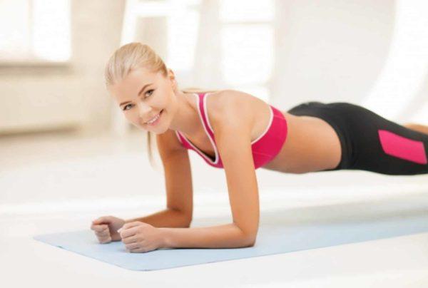 Как правильно делать планку для похудения