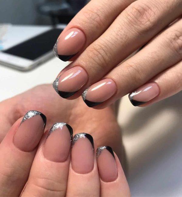 Маникюр френч 2019: самый красивый дизайн ногтей