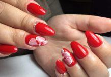 Дизайн ногтей - красный 2019: фото, новинки