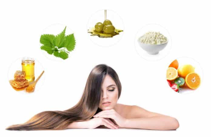 продукты для роста волос