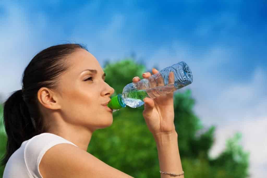 питье в жару