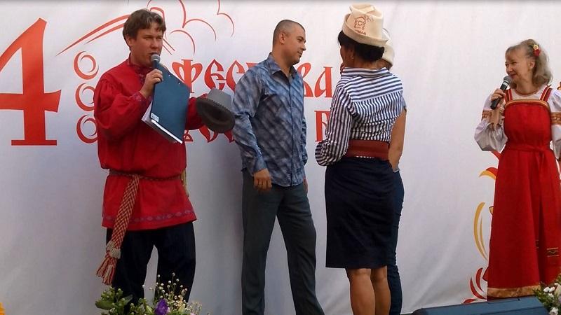 Ведущие фестиваля русской бани