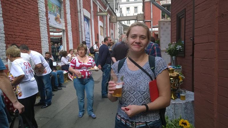 Какой банный фестиваль без пива?!