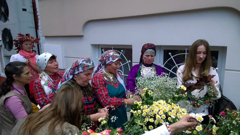 Бурановские бабушки на Фестивале русской бани