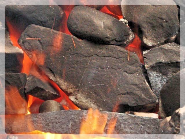 Камни в банной печи