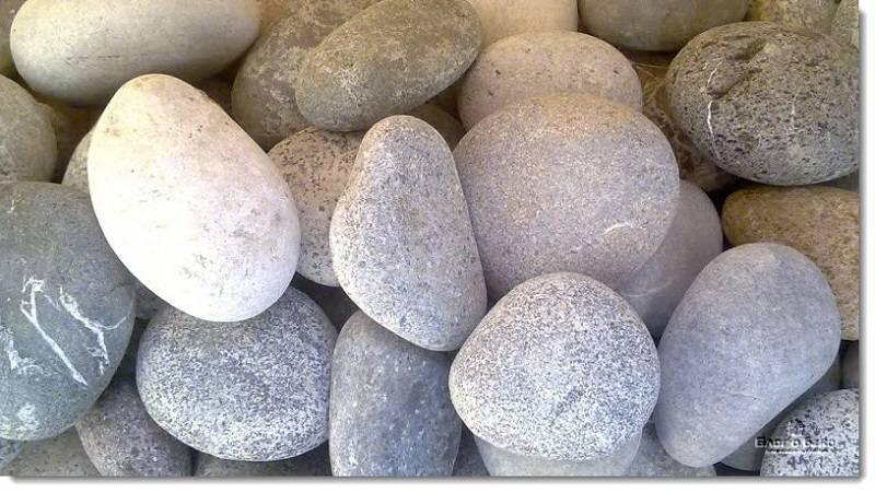 Круглые камни для печи