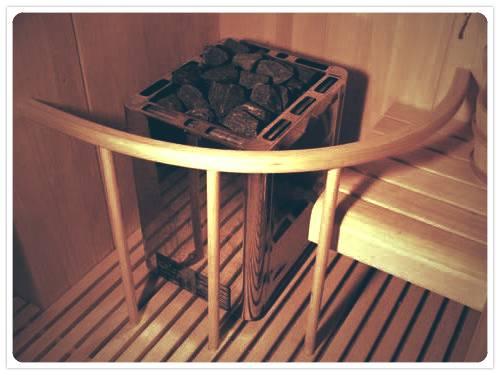 Печь в сауне
