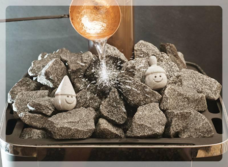 Камни в печи