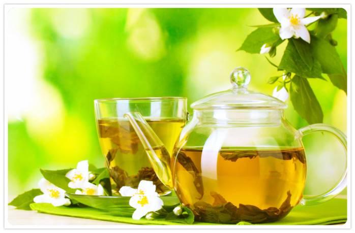 Зелёный чай для борьбы с целлюлитом
