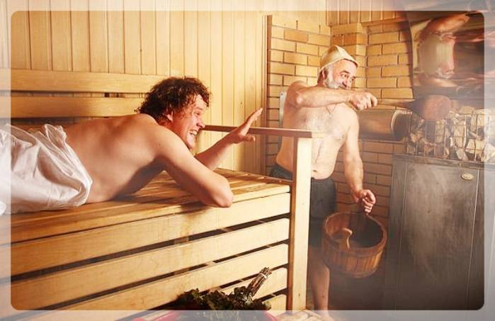 В_бане