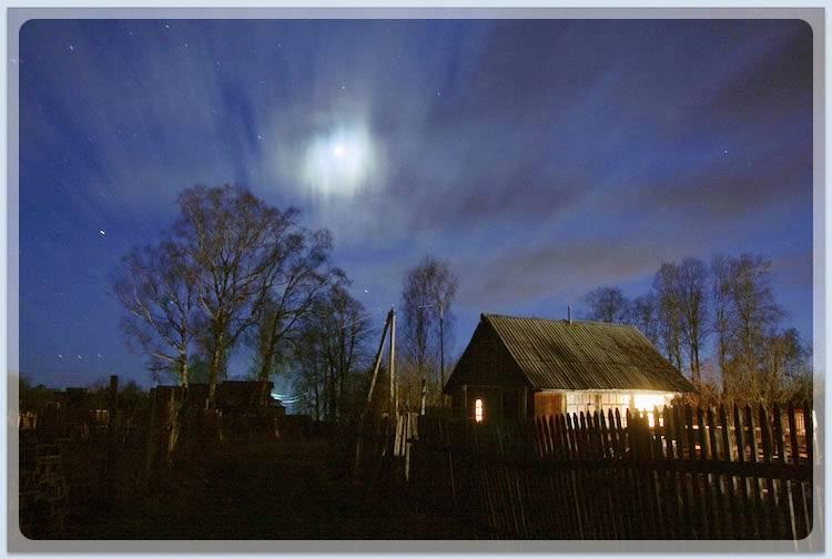 Луна над баней
