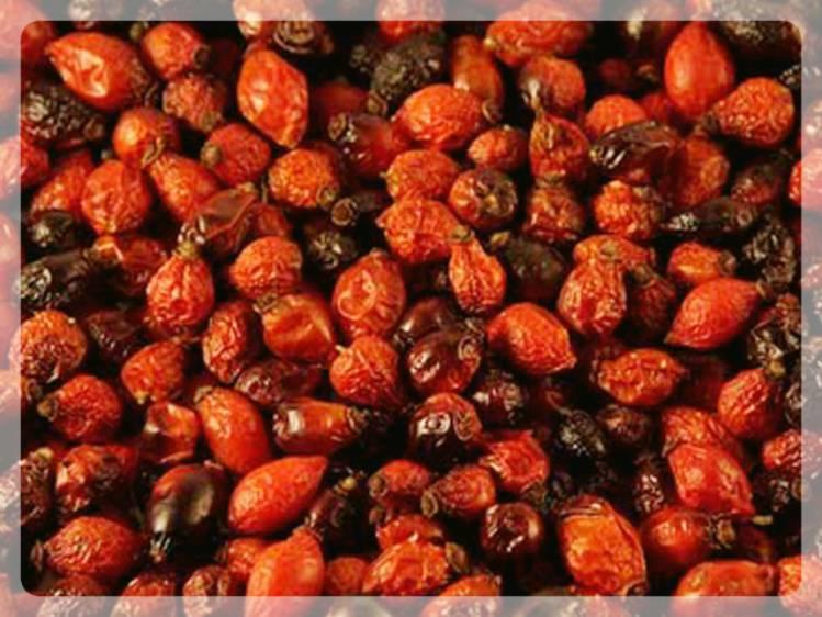 Сухие плоды шиповника
