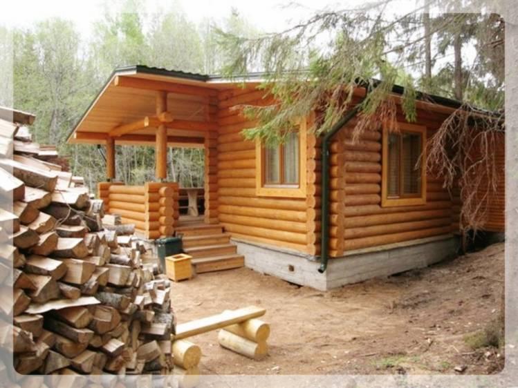 Баня и дрова