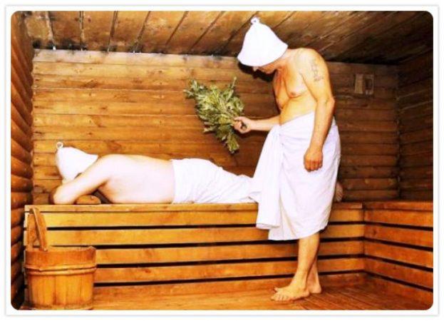 Как сделать баню на пару