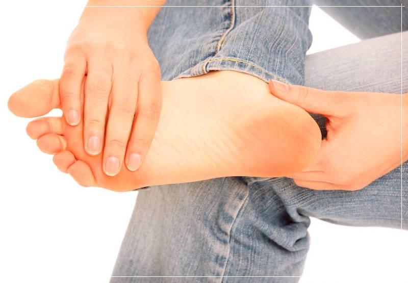 Как лечить сухие мозоли на ноге
