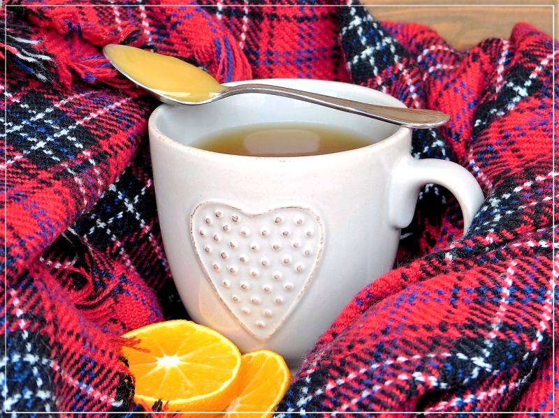 витаминный травяной чай