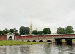 Необычная баня в Петропавловской крепости